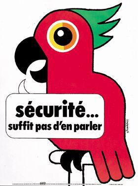 Affiches sécurité au travail inrs